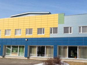 Genomforda projekt LLC PRO DEV Byte av tak pa sporthallen i Kandavas kommun bild 1