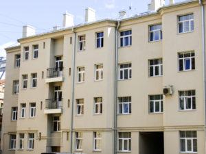 Genomforda projekt LLC PRO DEV Förbättring av energieffektiviteten i lagenhetshuset på Zala iela 3 Riga bild1
