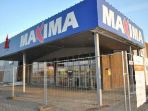 Genomforda projekt LLC PRO DEV Rekonstruktionsarbeten for Maxima X butik pa Gaismas iela 22 Aizkraukle