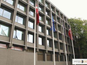 Genomforda projekt LLC PRO DEV förenklad renovering av fasaden pa andra kvarteret av försvarsministeriebyggnaden bild 1