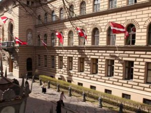 Genomforda projekt LLC PRO DEV förenklade renoveringsarbeten i Saeima Republiken Lettland i Riga bild 1