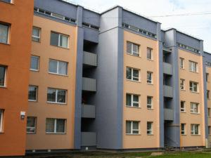 Genomforda projekt LLC PRO DEV foprbattring av energieffektiviteten i lagenhetshuset i Stacijas iela 27 Ikskile bild 1