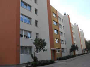 Genomforda projekt LLC PRO DEV forbattring av energieffektiviteten i lagenhetshuset pa Palmu iela 4 Riga bild1