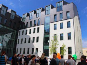 Genomforda projekt LLC PRO DEV ombyggnad av historisk stalverksbyggnad till femvanings kontorsbyggnad i A klass pa Mukusalas iela 42 Riga bild 1
