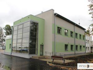 Genomforda projekt LLC PRO DEV omkonstruktion av verkstaden pa Lettiska institutet for vattenekologi till ne kontorsbyggnad med laboratorielokaler bild1