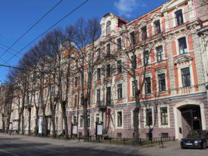 Genomforda projekt LLC PRO DEV rekonstruktion av rum 136 pa Jazeps Vitols Lettiska musikakademi