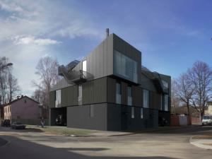 Projects PRO DEV two familly house Ogļu street ĶĪpsala visualisation