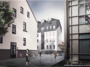 Projekti PRO DEV Biroju ēkas pārbuve un jaunbūve Mūkusalas iela 42 vizualizācija 2