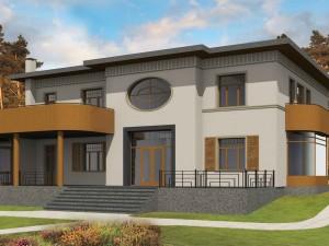 Проекты строительство частного дома ул. Дзервью 12 Калнгале фото 1