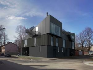 Проекты PRO DEV Строительство двух - семейного дома ул. Ogļu