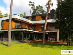 Реализованные проекты сооружение конструкций и отделка фасада частного дома пр. Булдуру 139 Юрмала PRO DEV фото 1