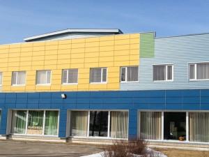 Реализованные проекты PRO DEV Замена кровли в здании спортивного комплекса Кандавского края фото 1